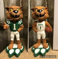 OHIO UNIVERSITY BOBCATS Basketball & Football RUFUS Mascot ...