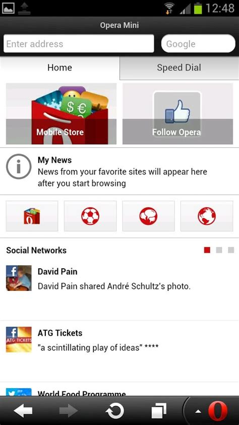 There is an option to save your favorites where you can save your favorite pages by just clicking on the '+' button. Opera Mini web browser.apk - Get Android Apps,Download Free Apk Games,Downlaod APK Directly