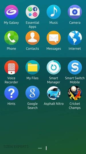 samsung z3 retail box pictures and user interface screen iot gadgets