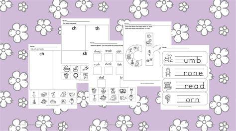 digraph worksheets  karles sight  sound reading