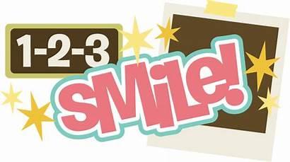 Smile Title Scrapbook Svg Scrapbooking Digital Svgs