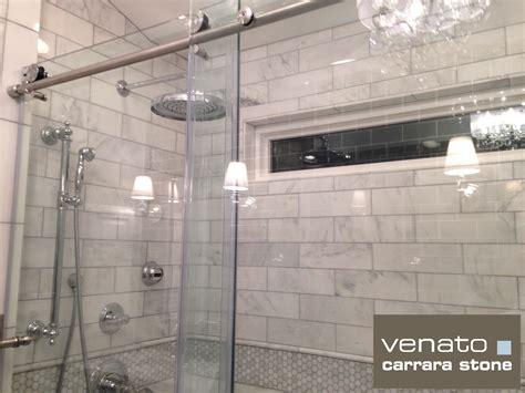 8 00sf carrara venato subway tile premium white based
