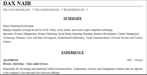 resume format resume builder linkedin labs
