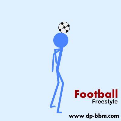 gambar animasi dp bbm freestyle football dp bb gokil