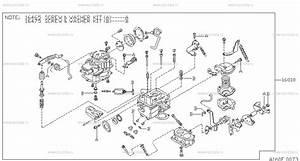 160 - Carburetor  U043d U0430 Vanette C120 Nissan Vanette