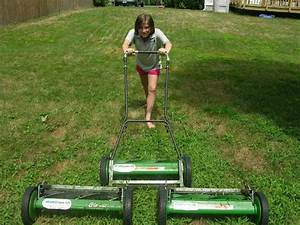 How To Mow Your Lawn With A Manual Push Reel Mower