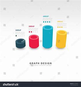 Vector Cylinder Infographic 3d Graph Template Stock Vector ...