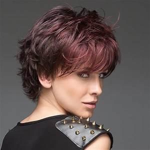 Coupe Mi Courte Femme : perruque femme cheveux mi courts ellen wille gamme ~ Nature-et-papiers.com Idées de Décoration