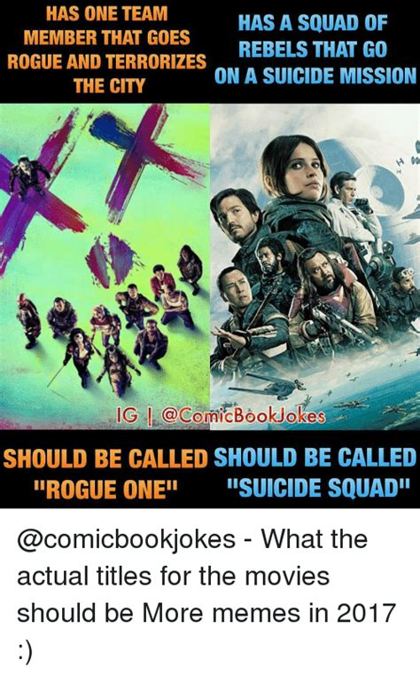 Rogue One Memes - funny suicide squad memes of 2017 on sizzle your amazing