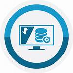 Hardware Service Data Services Business Icon Mobile