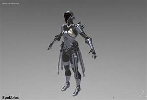 WARFRAME Forged Steel Trinity Skin Old Version By