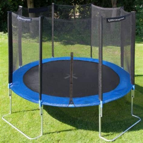 ultrasport gartentrampolin jumper  trampolin im testde