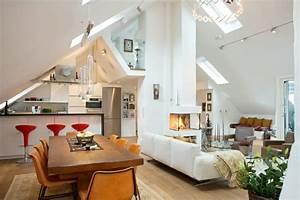Kleine Dachwohnung Einrichten : wohnideen dachwohnung ~ Bigdaddyawards.com Haus und Dekorationen
