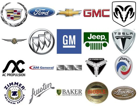 List Of All American Car Brands [american Car Manufacturers]