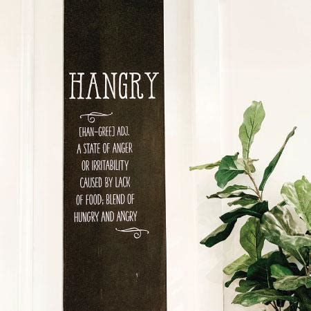hangry wall quotes decal wallquotescom