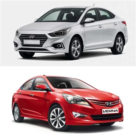 New 2017 Hyundai Verna Vs Old Model Comparison Price