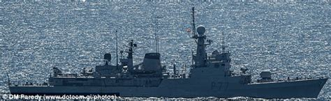 What S Boat In Spanish by Royal Navy Chases Spanish Boat Out Of Waters Off Gibraltar
