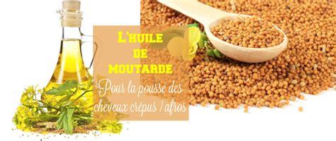 afrolife l huile de moutarde pour la pousse de nos cheveux cr 233 pus afrolife de chacha