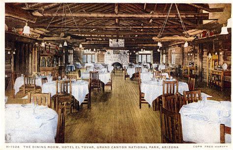 dining room hotel el tovar grand national park az