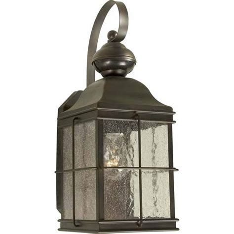 series 435 motion sensor antique bronze one light outdoor