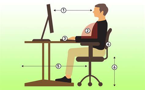 position bureau comment bien s 39 asseoir devant l 39 ordinateur machaisedebureau org