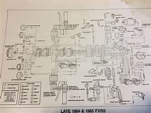 Harley Davidson Fxr Wiring Diagram For 1990