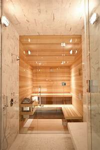 Sauna Für Badezimmer : kleines badezimmer sauna fliesen marmor optik bad in ~ Watch28wear.com Haus und Dekorationen