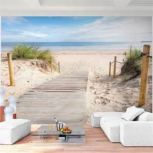 Fototapete Für Wohnzimmer : vlies fototapete meer wandtapete strand in 3 gr en verf gbar hochwertiges vliespapier ~ Sanjose-hotels-ca.com Haus und Dekorationen