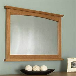 Shaker-Style Dresser Mirror Woodworking Plan from WOOD