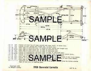 Sell 1972 1973 Jeep Cj5 Cj6 Dj5 Dj6 Frame Chart Diagram