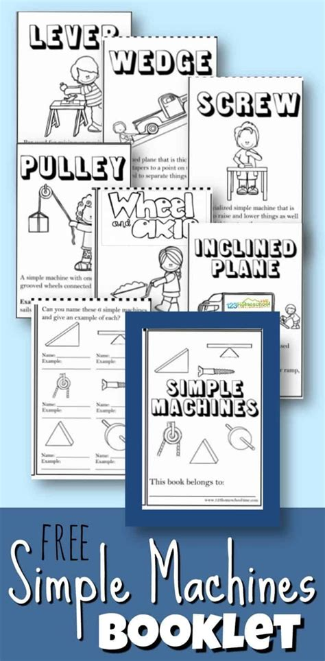 simple machines booklet  images simple