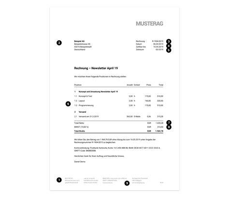 Auf Rechnung by Pflichtangaben Auf Einer Rechnung Rechnungen Erstellen Moco