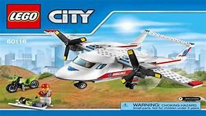 Instructions For Lego City 60116 Ambulance Plane