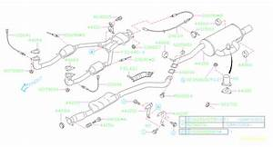 2004 Subaru Legacy 2 5l At 4wd Outback Wagon Oxygen Sensor