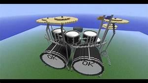 OKcraft - Minecraft Drum Kit / Beat Generator - YouTube