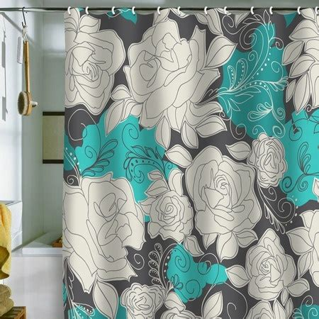 joss and grey curtains grey and teal shower curtains teal gray shower curtain