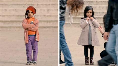 si鑒e unicef quot qué harías si vieras a una niña de 6 años sola en la calle