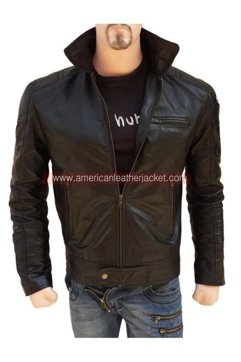 aaron paul need for speed jacket nfs aaron paul need for speed leather jacket