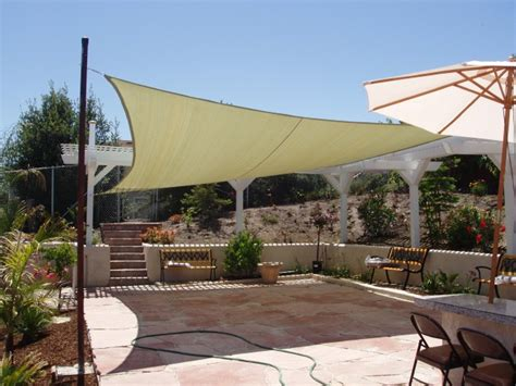 Patio Shade Ideas Cloth how to pick a quality shade sail beautyharmonylife