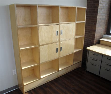 Plywood Bookcase by Ergonomic Desks And Ergonomic Furniture Standing Desks