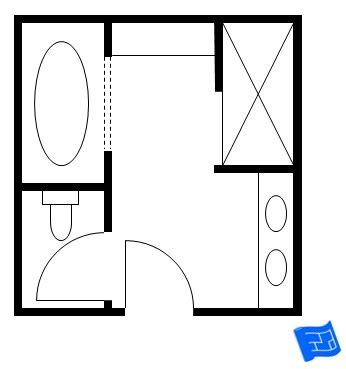 Bathroom Design Floor Plans by Master Bathroom Floor Plans