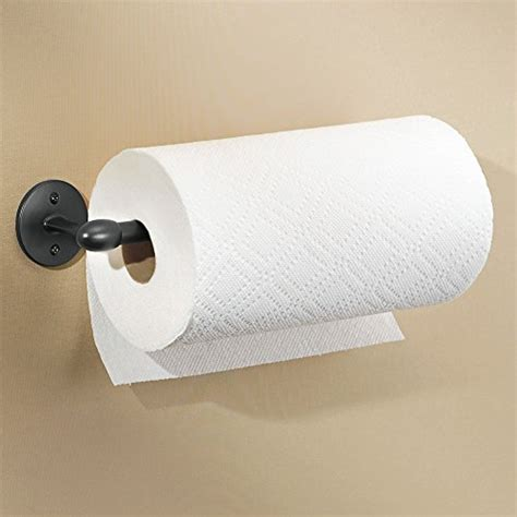 cabinet mount paper towel holder new wall mount or under cabinet paper towel holder matte