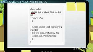College Graduate Resume Example Static Vs Non Static Methods In Java Video Lesson