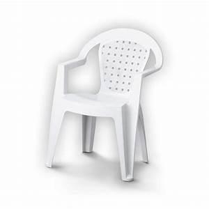 Fauteuil Plastique Jardin : fauteuil de jardin en r sine plastique norma blanc leroy merlin ~ Teatrodelosmanantiales.com Idées de Décoration