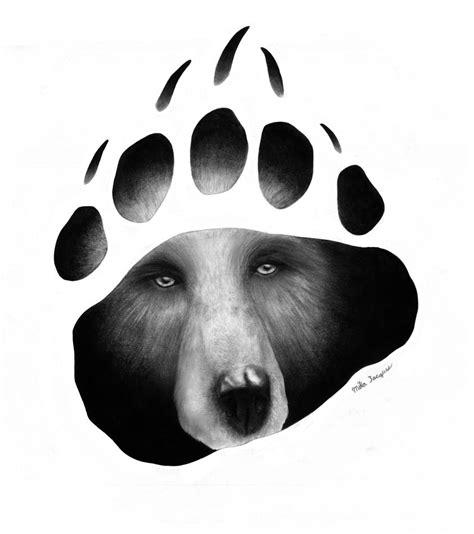 bear paw tattoo  mika  deviantart