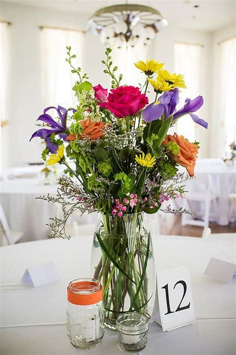 12 Best Images About Wildflower Centerpieces On Pinterest