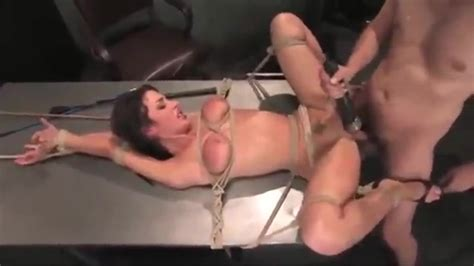 Bondage Sex With Anal And A Vibrator
