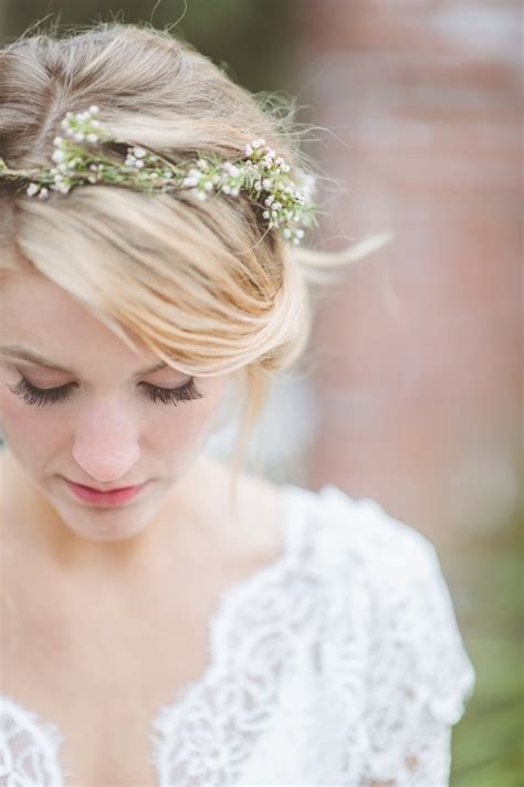 Fabulous Flower Crowns The Perfect Bridal Hair Accessory