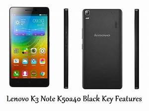 Lenovo K3 Note K50a40 Black General Details And Features