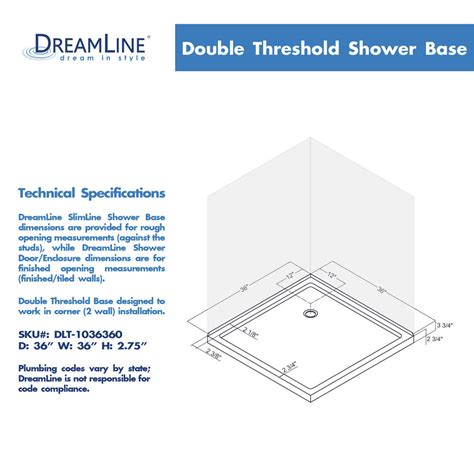 dreamline shower base bath4all dreamline dl 6789 09 corner shower